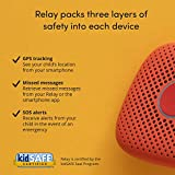 Relay Kids Screenless Smartphone, 4G LTE Nationwide Range Walkie Talkie, GPS Tracker, No Contract