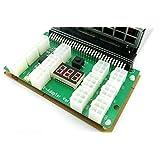 HP X7 1200w/750w Breakout Board Adapter 4 GPU Rig Mining Ethereum ZEC ZCASH ETH