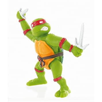 Amazon.com: Comansi 7cm Teenage Mutant Ninja Turtles Raphael ...