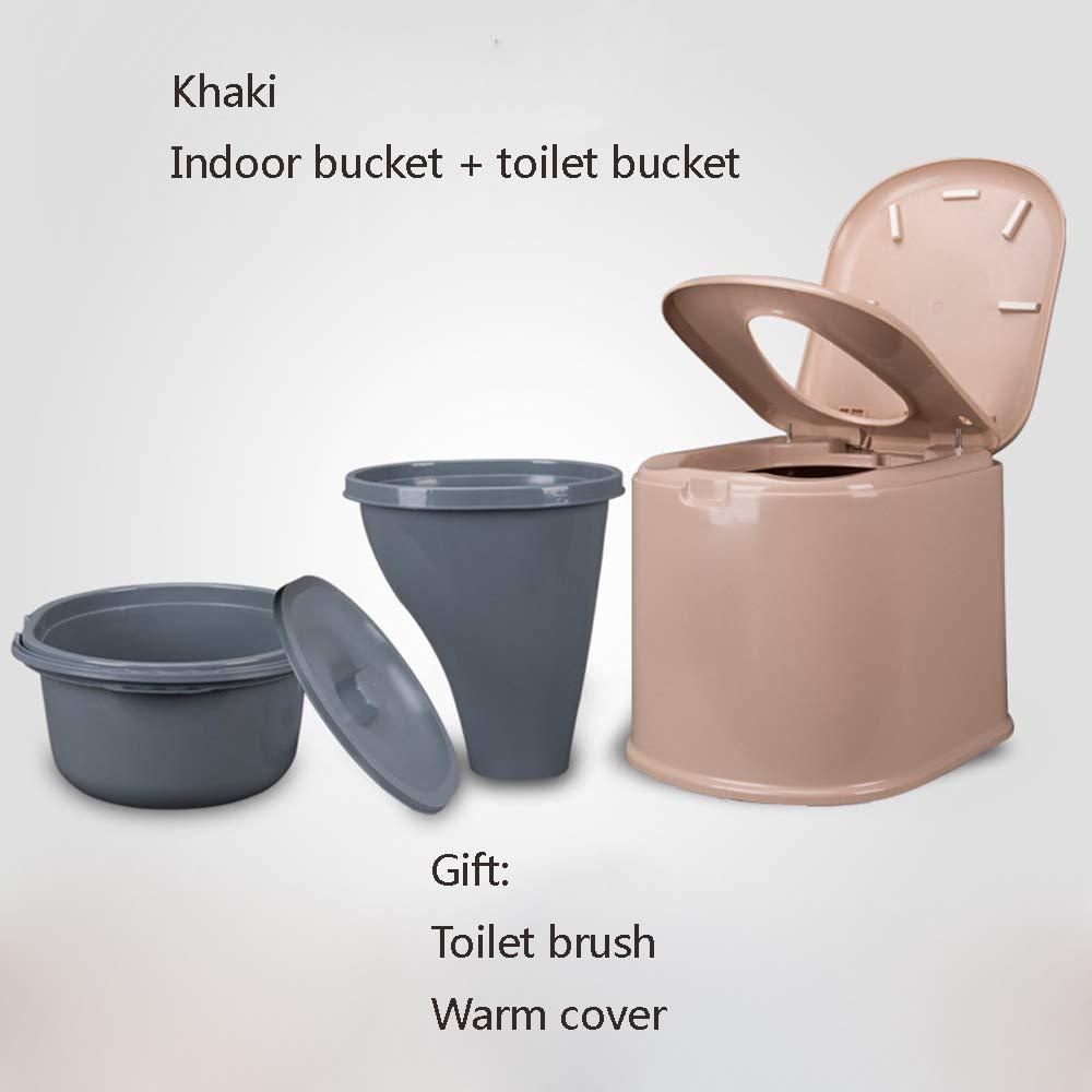 Bewegliche Bewegliche Toilette Erweiterte Erhöhten Älteren Erwachsenen der Erwachsenen Frauen des Plastiktoilettensitzes,D