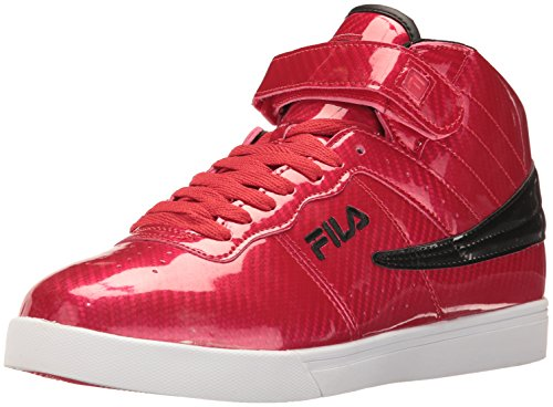Fila Men's Vulc 13 Windshift Walking Shoe, Red/Black/White, 10 D US