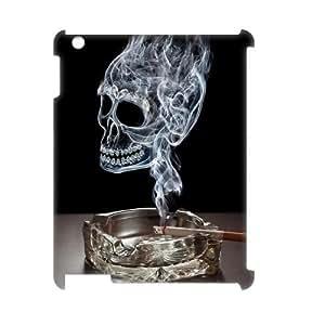 DIYCASETORE Cover Custom Case Skull 3D Bumper Plastic customized case For IPad 2,3,4