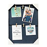 HANTAJANSS Photo Display Hanging Picture Frame of 6 Photos-show the Sweetest of Your Family (blue)