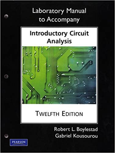 Laboratory manual for introductory circuit analysis pearson custom laboratory manual for introductory circuit analysis pearson custom electronics technology 12th edition fandeluxe Images