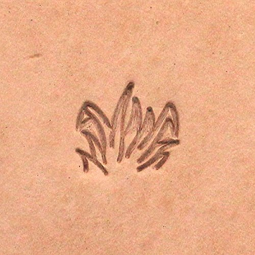 Tall Field of Grass Leather Craft Stamp F113 ()