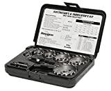 Hougen 14005 11 Piece Electrician and Fabricators Kit 7/8 to 2-1/2'' - 1/8'' Cutting Depth High Speed Steel for Sheet Metal Holemaking