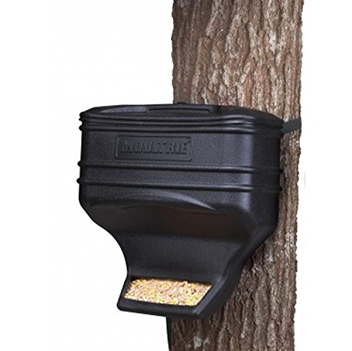Moultrie Feed Station   Gravity Feeder   Uv Resistant Plastic   40 Lb  Capacity   Strap Included