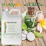 Organic Aloe Vera Leaf Gel - 100% Pure Aloe Leaf