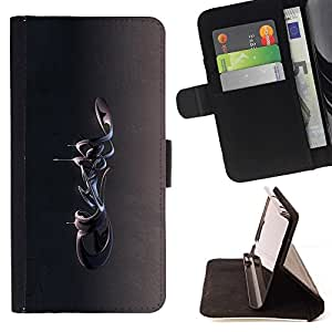 DEVIL CASE - FOR Sony Xperia Z2 D6502 - Abstract 3D - Style PU Leather Case Wallet Flip Stand Flap Closure Cover
