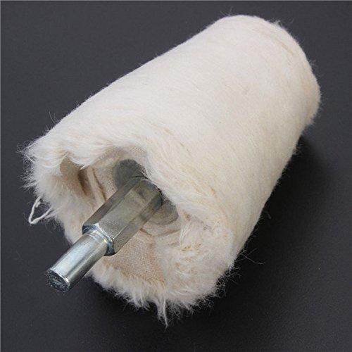 Doradus 50mm Kegel Buff Polieren Polierscheibe Flanell Polierscheibe Schleifwerkzeug