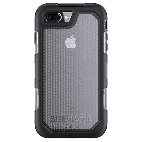 7870db33715 Griffin Survivor Extreme Case Cover for iPhone 8 Plus: Amazon.co.uk:  Electronics