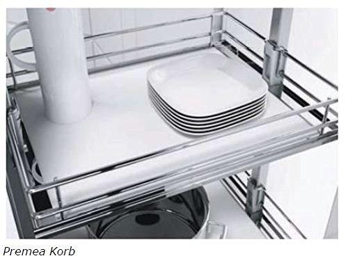 Vauth sagel hochschrankauszug hsa apothekerauszug schrankausstattung küchen schrank körbe höhe 1700 1950 mm breite 400 mm 5 körbe modell saphir amazon de