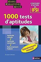 1000 TESTS APT IFSI ENT INTENS