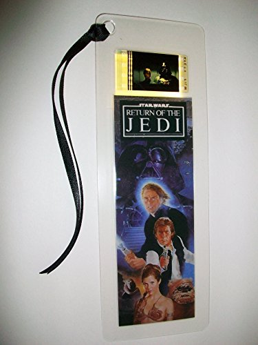 STAR WARS RETURN OF THE JEDI Movie Film Cell Bookmark memorabilia Compliments poster dvd book