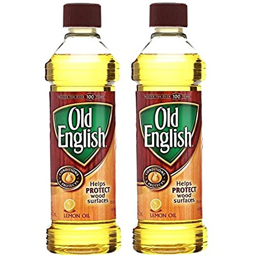 Old English Wood Polish, Bottle, 16 Oz, Pack of 2 (Old Wood Furniture)