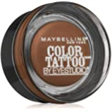 Maybelline New York Eye Studio Color Tattoo Leather 24 HR Cream Gel Eyeshadow, Creamy Beige, 0.14 Ounce