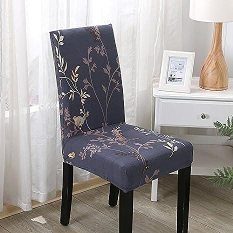 Couverture Impression Amovible Fleur Lavable Gris Ppoollkkmm Chaise uPXTkZiO