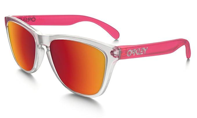 Oakley Frogskins (a) 92455254, Gafas de Sol Unisex Adulto, Rojo (Transparent Red/Red), 54: Amazon.es: Ropa y accesorios