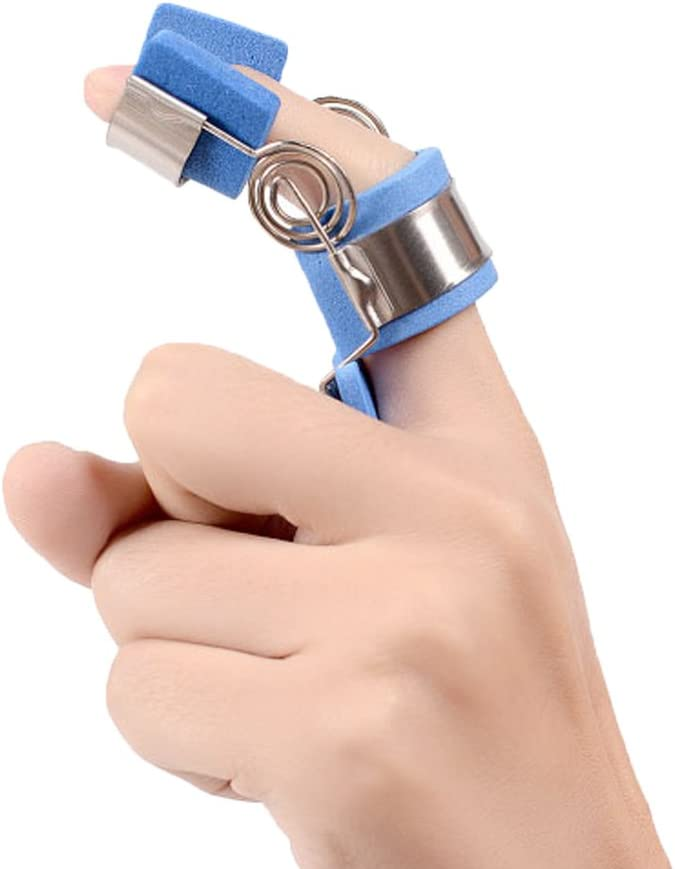 OBER Finger Jiont Trainers Férula Espasmo Función Ortesis Fracción Recuperación Flexión Extensión Rehabilitación Stroke (L:circunferencia del dedo por encima de 2.75 pulgadas)