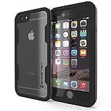 iPhone 6S Plus Waterproof Case, Ghostek Atomic 2.0 Series for Apple iPhone 6 Plus & 6S Plus | Underwater | Shockproof | Dirt-proof | Snow-proof | Aluminum Frame | Adventure Ready | (Space Gray)