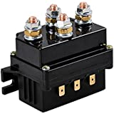 Astra Depot 12V 500A Winch Solenoid Contactor Relay for 8000lbs-12000lbs ATV UTV 4WD 4x4 Winches Replacement