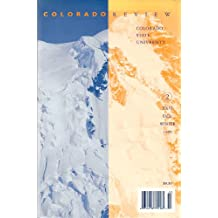 Colorado Review (Fall/Winter 1999) ((academic journal - literary review), XXVI)