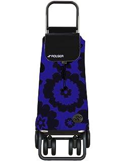 Rolser Carro Pack F-Tres 4 Ruedas 2 Giratorias Plegable - Azul ...