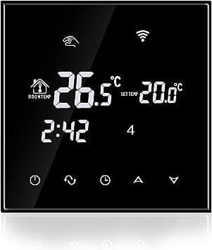 Beok TGT70WIFI-WPB - Termostato de temperatura inteligente ...