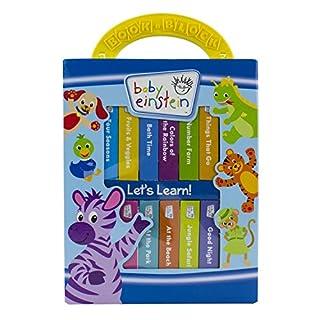 Baby Einstein - My First Library 12 Board Book Block Set - PI Kids