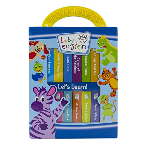 Baby Einstein - My First Library 12 Board Book Block Set - PI Kids -
