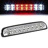 For Ford Super Duty/Ranger/Mazda B-Series High Mount Dual Row LED 3rd Brake/Cargo Light (Chrome Housing)