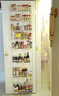 18 Inch Wide Adjustable Door Rack Pantry Organizer