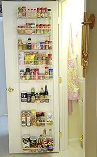 18 Inch Wide Adjustable Door Rack Pantry Organizer & Amazon.com: ClosetMaid 1233 Adjustable 8-Tier Wall and Door Rack ... pezcame.com