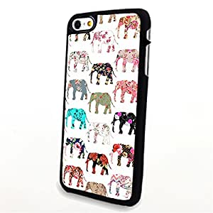Generic Phone Accessories Matte Hard Plastic Phone Cases Cartoon Animal Elephant fit for Iphone 6
