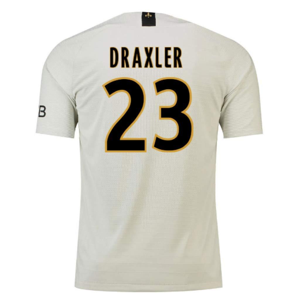 2018-19 PSG Away Football Soccer T-Shirt Trikot (Julian Draxler 23)