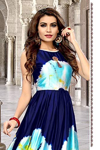 Kurti Da Indian Blu Ethnic Donne Neavy Blue Traditonal Women Designer Facioun Facioun Partywear Da Readymade Traditonal Partywear Neavy Progettista Etnici Readymade Kurti 3 3 Indiane rgq8wr5