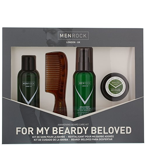 Men Rock Awakening Beardy Beloved Beard Care Kit