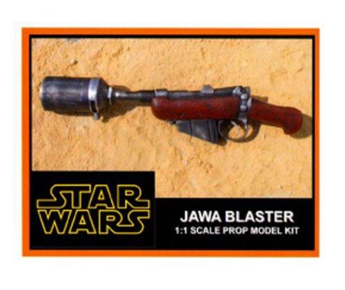 Amazon com : Star Wars Jawa Ion Blaster Prop Model Kit