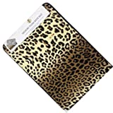 Incredibly Soft and Absorbent Memory Foam Bath Mat (Leopard, 17''x24'')