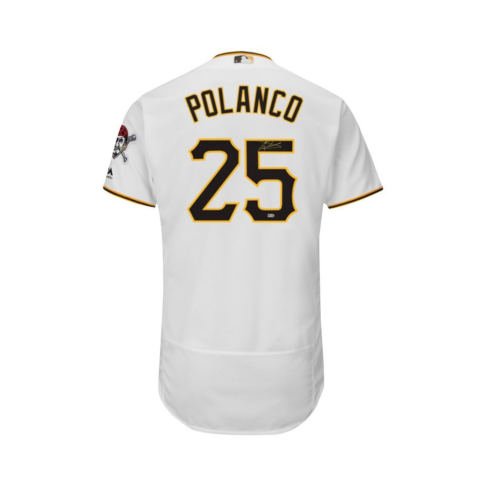 6c94396c2 ... Gregory Polanco Autographed Pirates Majestic Flex Base Authentic Jersey  MLB at Amazons Sports Collectibles Store Amazon.com Pittsburgh ...