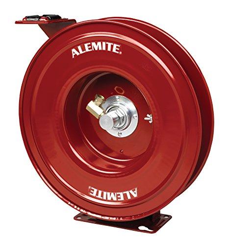 (Alemite 7334-B Heavy Duty Bare Reel, Grease Compatibility, 6400 PSI Maximum Pressure, Maroon, 1/2