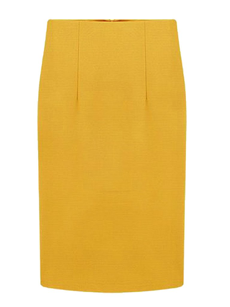 PERSUN Women's Vintage Midi Pencil Skirts Slim Fit Bodycon Skirts for Office Wear