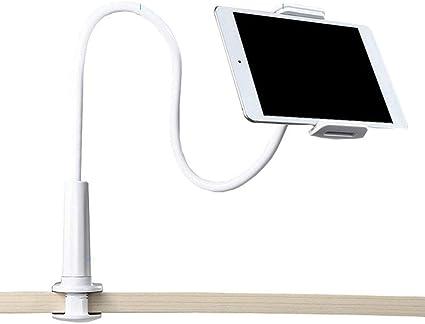 Demarkt Handy Halter Halterung Universal Mit Schwanenhals Und Tisch Klemme 360 Drehen Desktop Ständer Bracket Handyhalterung Küche Haushalt