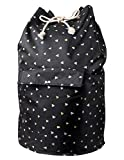 EXCEL LIFE Extra Large College Laundry Backpack Dorm room Canvas Duffel Laundry Bag,Laundry Tote