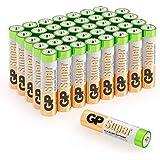Pilas AAA Micro Pack de Super Alkaline 40unidades) [Producto de marca GP Batteries]