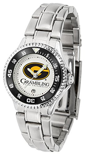 Linkswalker Grambling State University Tigers Competitor Ladies Steel Watch