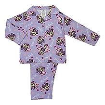 Disney Minnie Mouse Winceyette Girls Pyjamas