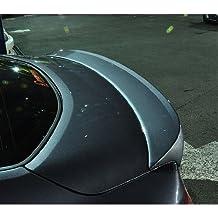 DALLIZA Rear Trunk Lip Spoiler PAINTED 1-pc Set For 2010 2011 2012 2013 Hyundai Genesis Coupe (NBA - Space Black)