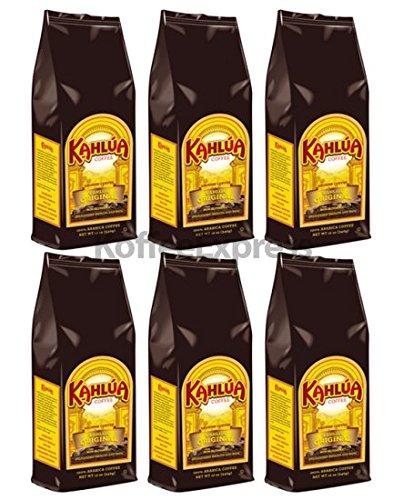 - Kahlua - Original Gourmet Ground Coffee (6 bags/12oz)