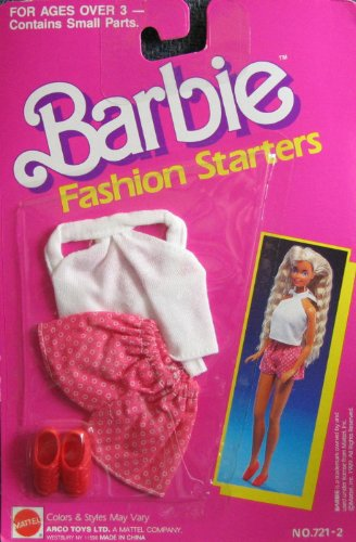 Barbie Fashion Starters - Shorts, Top & Shoes (1989)